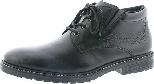 b74bafe0a9 Pánska kožená obuv šnurovacia zateplená značky Rieker - Glami.sk