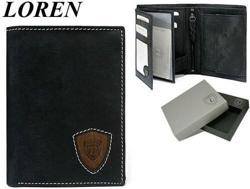 e7049133a Pánska peňaženka LOREN čierna - Glami.sk