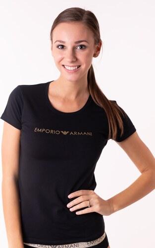 d1f0b478f95f Dámske tričko Emporio Armani 163139 8A225 L Čierna - Glami.sk