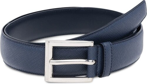 Prada Saffiano Leather Belt - Blue - Glami.sk 183a5f596f3