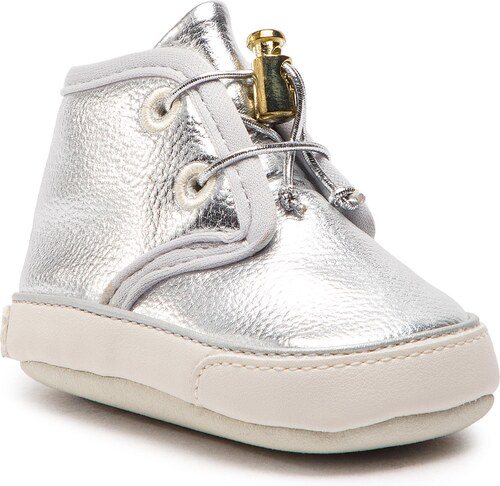 030535a14eeb Outdoorová obuv GUESS - Nadette FY5NAD ELE12 SILVER - Glami.sk