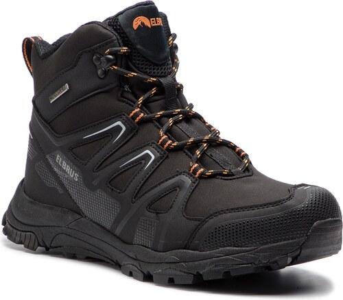 Trekingová obuv ELBRUS - Merupa Mid Wp Black Orange - Glami.sk 76c0087c51