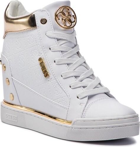 a9b426cfd7 Sneakersy GUESS - Finly FL5FN LFAL12 WHITE - Glami.sk