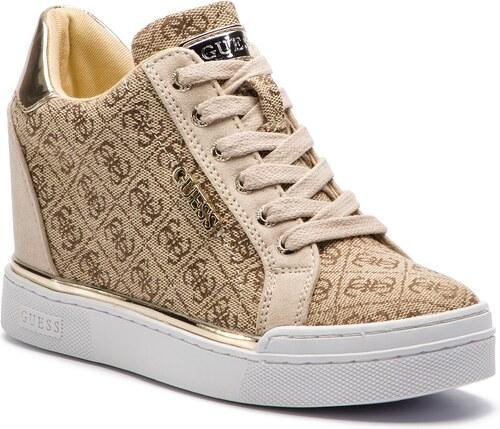 f72f0c509f Sneakersy GUESS - Flowurs2 FL5FW2 FAL12 BROWN - Glami.sk