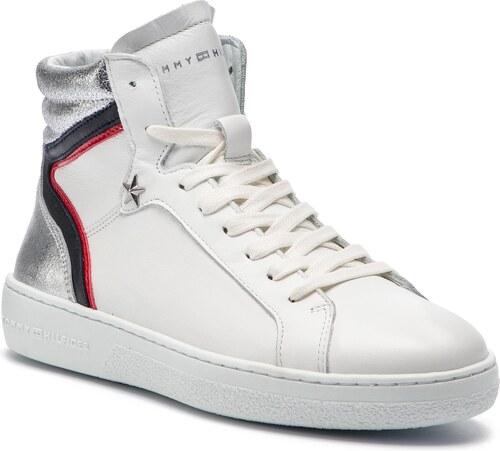 TOMMY HILFIGER Mid Iconic Sneaker FW0FW03973 - Glami.cz 2b8d044f1c