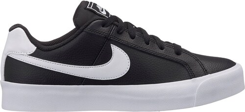 the latest e9867 2d953 Nike Court Royale AC Ladies Trainers Black White
