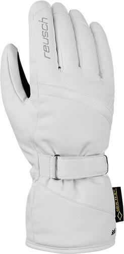 695b6c6cfa1 Dámské lyžařské rukavice Reusch Alexa GTX 100 White - Glami.cz