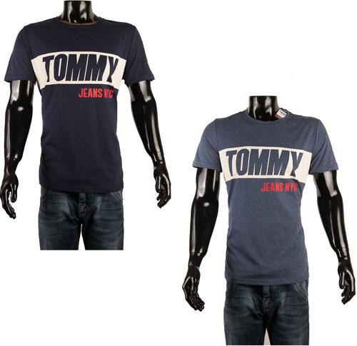 ef4c04ccc60 Pánská trička Tommy Hilfiger Denim 2 pack - navy   odstín modré ...