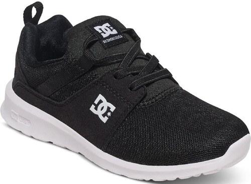 DC Shoes Dětské boty DC Heathrow Black White - Glami.sk d98c083838