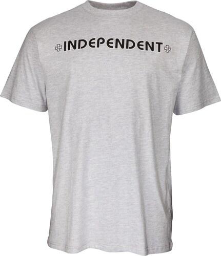 Pánské tričko Independent Bar Cross atletic heather - Glami.sk e4f0db7c1f