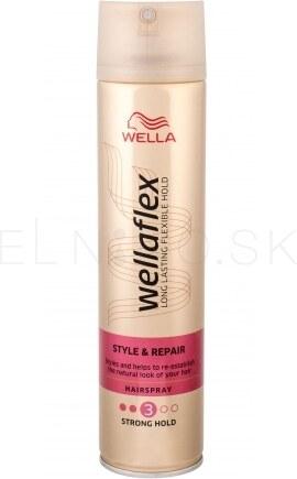 Wella Wellaflex Style   Repair 250 ml lak so silnou fixáciou pre poškodené  vlasy pre ženy e4dca1e394e