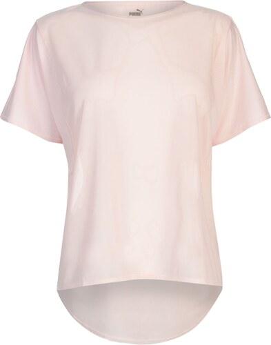 Triko Puma En Pointe Explosive T Shirt Pearl - Glami.sk 9053372a192