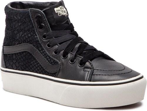 a10550e1b7b Sneakersy VANS - Sk8-Hi Platform 2 VN0A3TKNUQF1 (Leather) Snake Black