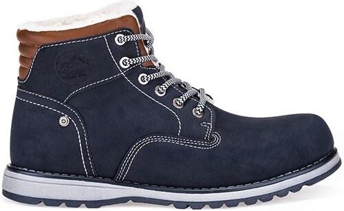 b5c4940953b Pánské boty OMBRE AT248 NAVY - Glami.cz