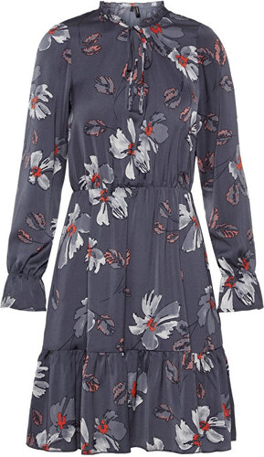 118619665a87 Vero Moda Dámské šaty Isla Alba L S Blk Dress Fd18 Ombre Blue Jenna ...