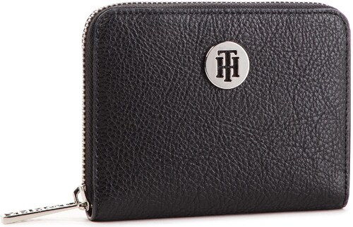 Veľká Peňaženka Dámska TOMMY HILFIGER - Th Core Compact Za Wallet  AW0AW06135 002 2ab2606a1d2