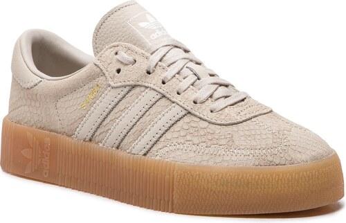 official photos d4497 7f314 Pantofi adidas - Sambarose W B28163 CbrownCbrownGum3