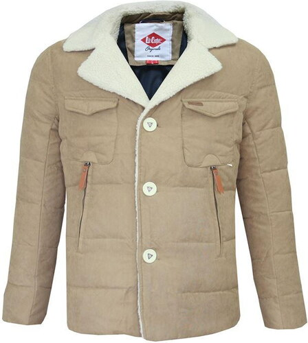 Lee Cooper Sherpa Collar férfi kabát - Glami.hu d2d5b507a6