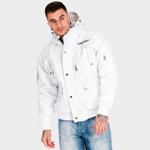 Pánska zimná bunda Amstaff Conex Winterjacket biela - Glami.sk ac40f7d8991