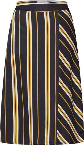 884e293d52b SOAKED IN LUXURY Sukně  Malia Skirt  krémová   hořčicová   černá ...