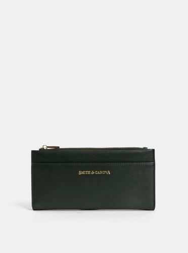 Tmavozelená kožená veľká peňaženka Smith   Canova - Glami.sk e23e9713ed5