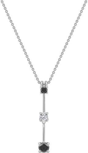 Eppi Zlatý diamantový náhrdelník Minulost přítomnost budoucnost ... af92987ce76