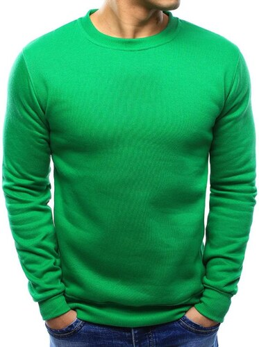 Manstyle Férfi kényelmes zöld pulóver - Glami.hu fbe78970c8
