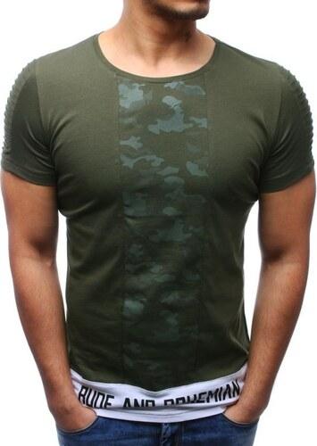 Manstyle Férfi póló nyomtatott zöld - Glami.hu f907360f8c