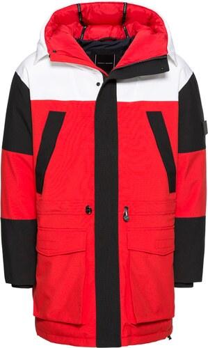 75e52a4898 TOMMY HILFIGER Zimná bunda  COLOURBLOCK  červené - Glami.sk