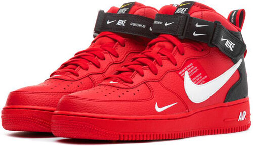 8a58783faa6 Tenisky Nike Air Force 1 Mid 07 LV8 Utility University Red - Glami.sk