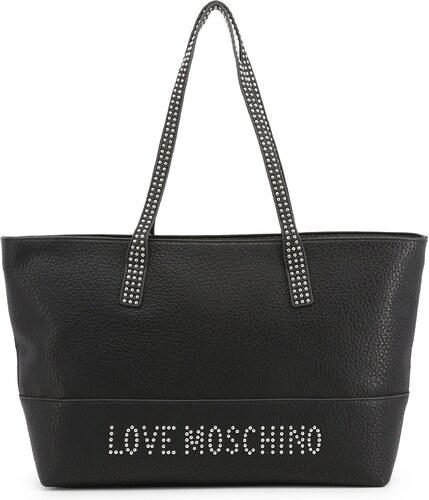 4f94ab301 LOVE MOSCHINO Dámská velmi velká kabelka typu Shopper Love Moschino Černá