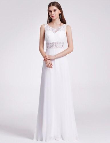 Ever Pretty Plesové šaty společenské bílé 8741 - Glami.cz b959b196c8