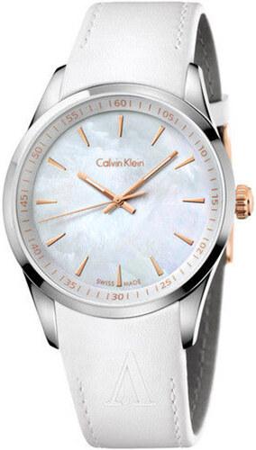 c595c625e27 Hodinky Calvin Klein Bílé K5A31B - Glami.cz