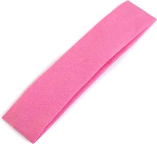 Elastická čelenka do vlasov (ružová farba) - Glami.sk c4ab8eaf82