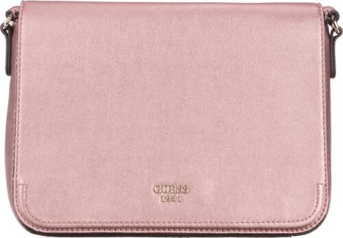 Guess Kamryn Cross body bag Růžová Béžová - Glami.cz ca3705b729c