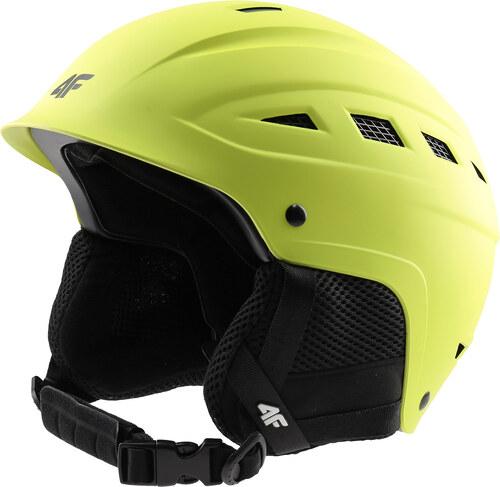 4F Pánská lyžařská helma KSM350 - šťavnatá neonově zelená - Glami.cz d1f0b6e0a11