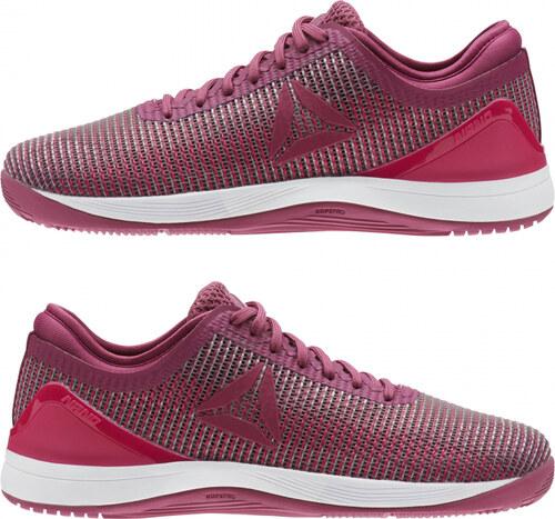 2bacec68a6141 -40% Dámske fitness topánky Reebok R CROSSFIT NANO 8.0 (Ružová / Biela)