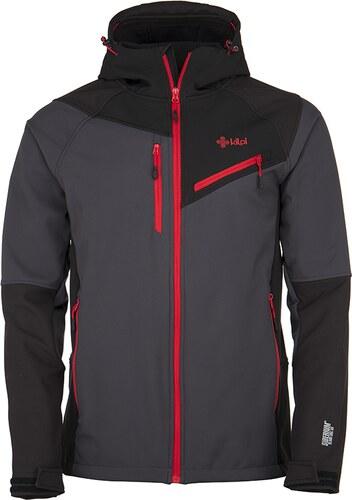-20% Nové Pánska zimná lyžiarska softshellová bunda KILPI ZENITH-M Šedá 19 d8995c36f70