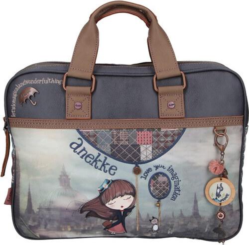 MISS ANEKKE Vintage kabelka na laptop 27844-02 - Glami.sk 92950cfab1e