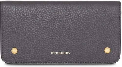 Burberry Leather Phone Wallet - Grey - Glami.sk 2d35f16a49a