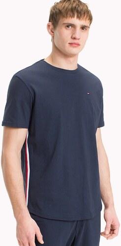 Pánské Tričko Tommy Hilfiger Organic Cotton CN Tee SS Navy - Glami.cz 493866349ff