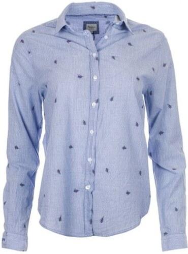 85d46d329a2 Pepe Jeans dámská košile Evia XS světle modrá - Glami.cz