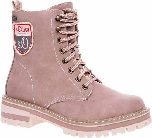 e033017227 Dámská kotníková obuv s.Oliver 5-26254-31 rose 5-5-26254-31 544 ...