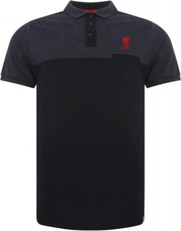 0bf821777f03 FC Liverpool pánské polo tričko Colour block black 15172 - Glami.cz