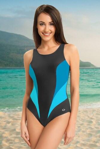 Winner Jednodílné sportovní plavky Daisy šedé - Glami.cz 241523383f