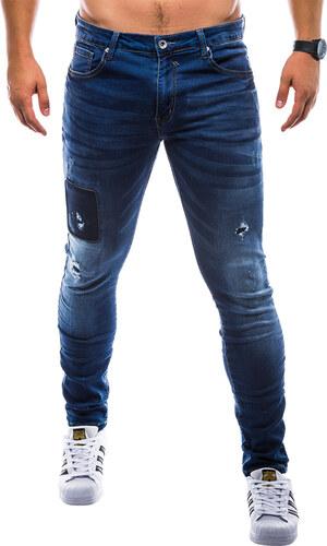 Ombre Clothing Pánské riflové kalhoty Arlo modré - Glami.cz 0d6ff941ec