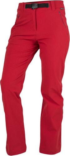 7ee09922e0f7 NORTHFINDER CAMRYN Dámske outdoorové nohavice NO-4445OR307 tmavo červená XL