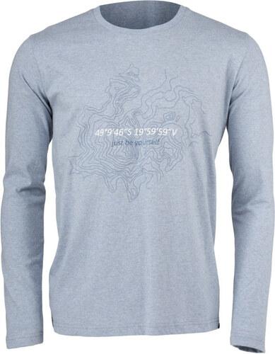 182b0e5ee08e NORTHFINDER BLAZE Pánske tričko s dlhým rukávom TR-3321OR285 melange ...