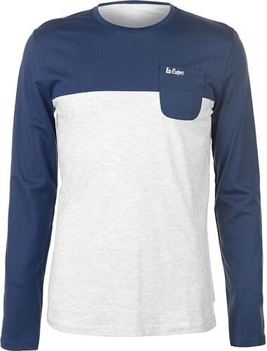 b5fc03f99f47 Pánske voĺnočasové tričko s dlhým rukávom Lee Cooper - Glami.sk
