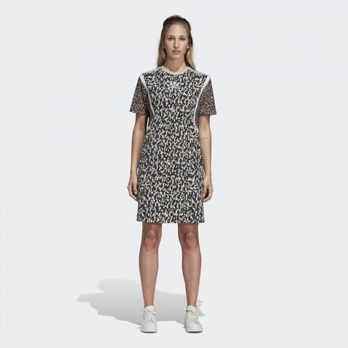 56fc613e6719 Dámske šaty adidas Originals LF TEE DRESS (Multicolor) - Glami.sk